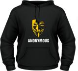Anonymous - Negru - Fol - XXL'