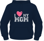 I Love My Mom - Albastru - Keya - XXL'