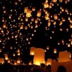 Lampioane zburatoare cilindrice'