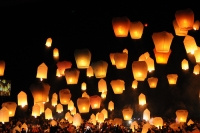 Lampioane zburatoare rotunjite'