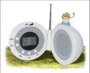 Minge de golf cu Ceas si Radio'