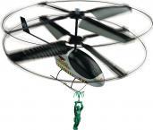 Mini Elicopter Telecomandat cu Omulet Verde'