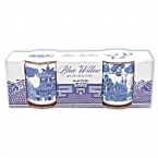Set Blue Willow Suporturi Oua '