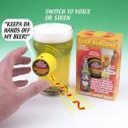 Sistem de alarma pentru bere'