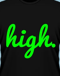 I'm high on life!'