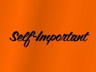 Self-Important