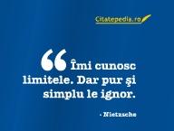 Citatepedia.ro - Imi Cunosc Limitele'