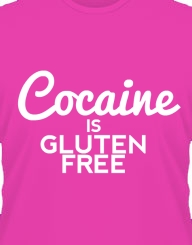 Cocaine Is Gluten Free
