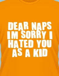 Dear naps, I love you