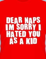 Dear naps, I love you