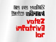 Eu nu votez pentru oameni...