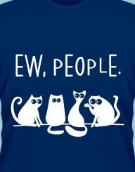 Ew, people!'