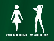 Your / my girlfriend