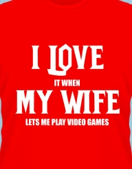 I Love My Wife'