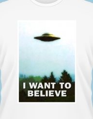 I want to believe'
