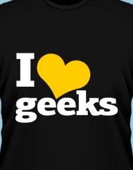 I heart geeks!