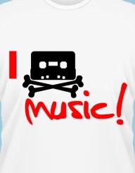 I pirate music!
