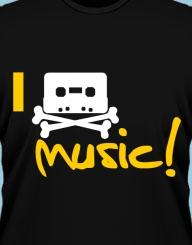 I pirate music!'