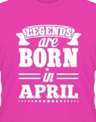 Legends are born in...