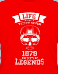 Life begins at *Your age*'