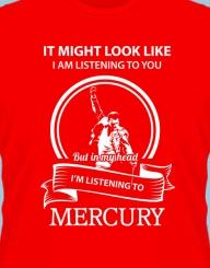 I'm listening to Mercury