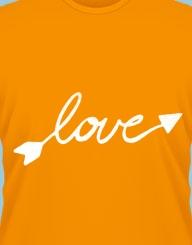 The arrow of love!'