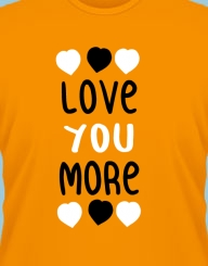 Love You More'