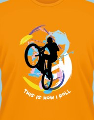 Bicycle Roll
