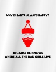 Santa Always Happy