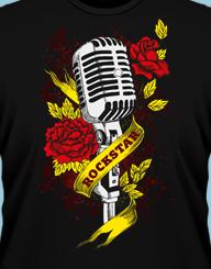 Microfon de rock star!