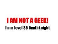 Not a geek'