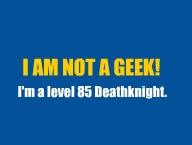 Not a geek