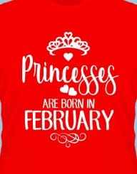 Princesses are born in ...!