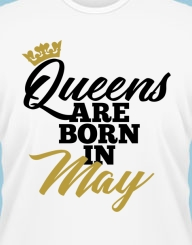 Queens are born in ... gold