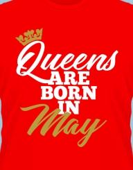 Queens are born in ... gold'