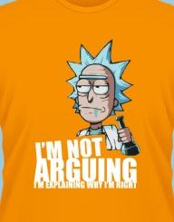 Rick - not arguing!