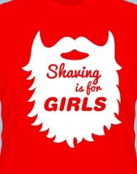 Shaving Is For Girls'