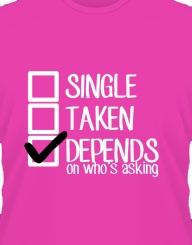 Single Taken Depends