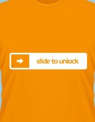 Slide to unlock'