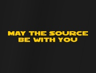 May the source be with you'