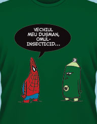 Spiderman vs. Omul-Insecticid'
