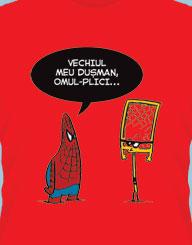 Spiderman vs. Omul-Plici'