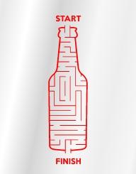 Bottle Maze
