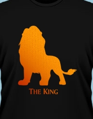 The king (lion)'