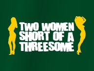 Two women short of a threesome