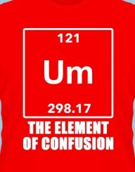 Elementul confuz, confuziei?