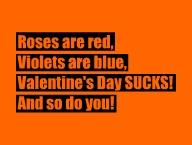 Valentine's Day Sucks!'