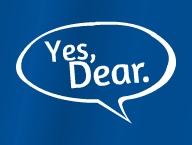 Yes, Dear.'