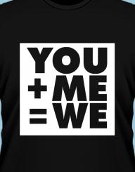 You+Me=We'