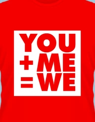 You+Me=We'